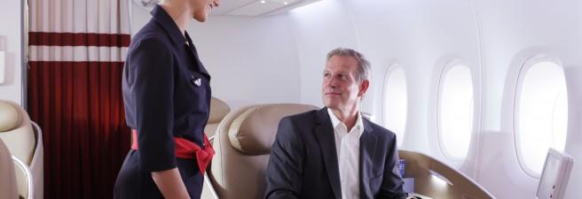 Surclassement en Première Air France